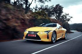 lexus lc coupe for sale first drive 2018 lexus lc 500 and 500h automobile magazine