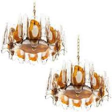 Murano Glass Pendant Lights Pair Of Murano Glass Pendant Lights Or Chandelier Saturday Sale