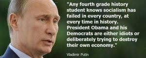 Obama Putin Meme - facebook meme says vladimir putin accused barack obama of being an