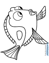 finding dory coloring pages coloring pages kids