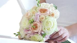 wedding flowers hd wedding bouquet at s stock footage 10761014