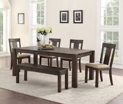 quincy 6 piece set by american wholesale rustic furniture direct