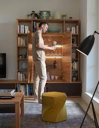 Wohnzimmerverbau Modern Cubus Wohnwand Vielfalt Für Ihr Wohnzimmer Team 7