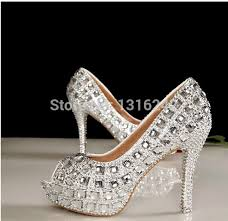 wedding shoes for girl 2015 newest diamond wedding party club shoes woman bridal