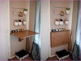 Diy Fold Down Table Folding Table Wall Mounted Facil Furniture