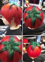 redhair nape shave daily hair spotting tomato head strayhair