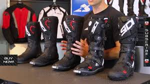 motorcycle road boots sidi off road boot guide from motorcycle superstore com youtube