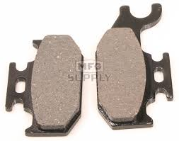 vd 979 bombardier front right atv brake pads atv parts mfg