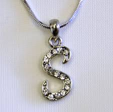 s necklace wholesale initial necklaces initial chains