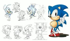 never before seen concept art of sonic characters shown u2013 sonic retro