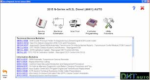 isuzu diagnostic service system idss ii 2015 heavy equipment