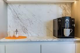 cremo calacatta marble kitchen aria stone gallery