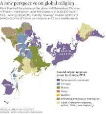 Why Do Western Maps Shrink by The World U0027s Newest Major Religion No Religion