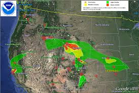 California Wildfire Smoke Map by U S Air Quality Ozone And Smoke Affect California And The Rockies