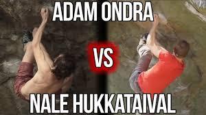 Rock Climbing Memes - adam ondra vs nalle hukkataival gioia 8c rock climbing