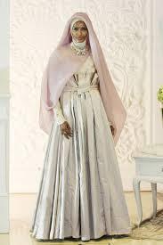 tutorial hijab syar i untuk pengantin foto inspirasi gaun pengantin syar i dari desainer irna mutiara 6