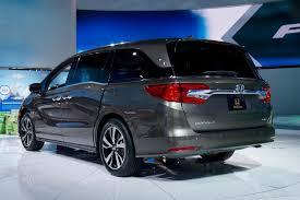 Honda Odyssey Pics Next Generation 2018 Honda Odyssey Debuts At Naias Carfax Blog