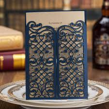 compare prices on blue inviting card wedding online shopping buy