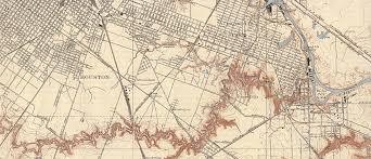 Downtown Houston Map Old Houston Maps Houston Past