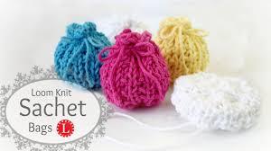 sachet bags loom knitting bag patterns sachet pillows party shower favors gift