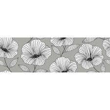 wallpops 6 5 in x 144 in moon flower stair stripe decal wpss1985