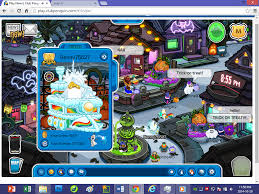 image club penguin u2014halloween party 2014 u2014grave icon olaf player