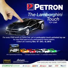 nissan almera cebu price petron goes lamborghini for this year u0027s holiday season collectible