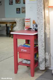 how to repurpose a kitchen cart and get organized