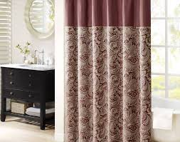 Fancy Shower Curtains Remarkable Purple And Gray Shower Curtain Gallery Best Idea Home