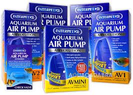 interpet av air pump avmini av1 av2 av3 av4 fish tank aquarium