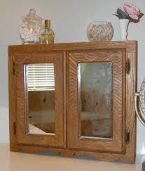 Swinging Doors For Kitchen Furniture Diy Wood Medicine Cabinet With Two Mirrored Swinging