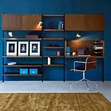 bibliothèque bureau intégré bibliotheque bureau integre meuble avec bureau intacgrac