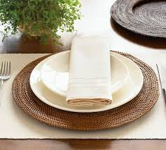 Table Setting Chargers - home decor home lighting blog blog archive hosting a dinner