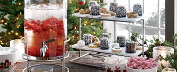 Christmas Party Host - how to host a christmas party crate and barrel