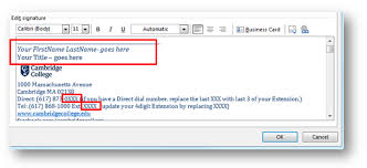 outlook 2010 create and add an email message signature