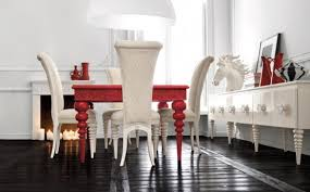 chic and very elegant dining room set altamoda home digsdigs