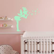 funlife tinkerbell wall stickers for kids rooms noctilucent glow funlife tinkerbell wall stickers for kids rooms noctilucent glow in the dark angel girl mural poster home decor diy decals gs041 in wall stickers from home