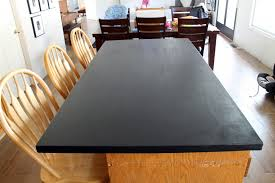 diy concrete dining table diy concrete dining table top enchanting kitchen table top home