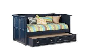 Daybed With Headboard by Summer Breeze Daybed With Bookcase Headboard Navy Hom