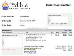 edible delivery edible arrangements nothing delivered may 11 2015 pissed consumer