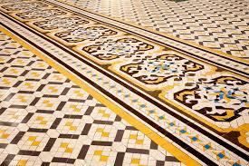spanish floor spanish floor tiles stock photo image of slip flower 51885348
