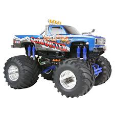 monster jam rc truck tamiya 1 10 super clod buster 4wd kit towerhobbies com