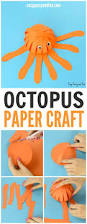 simple paper octopus craft summer crafts for kids easy peasy