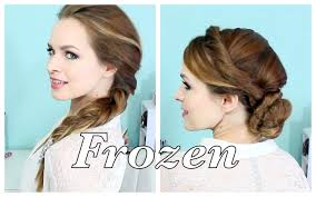 elsa s hairstyles from frozen youtube
