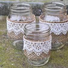 Mason Jar Vases Rustic Mason Jar Vases Suburble