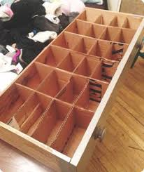 Wood Desk Drawer Organizer Create Your Own Cardboard Box Desk Drawer Organizers Desk Drawer