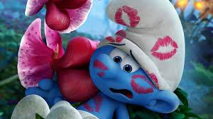 wallpaper clumsy smurf smurfs lost village animation 4k