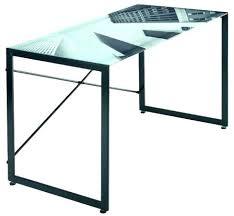 bureau plateau en verre bureau en verre trempac noir plateau de verre bureau bureau