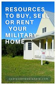 military real estate buy sell rent tools