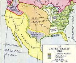 Louisiana Purchase Map by Gr 4 History Sunnyside Classical Christian